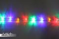 10mm2芯、LEDロープ(チューブ)ライト、ミックス(赤、黄、ブルー、グリーン)、10m