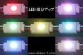 LEDモジュール、COB型、1球x30モジュール、RGB(フルカラー)、電源・コントローラ別売り