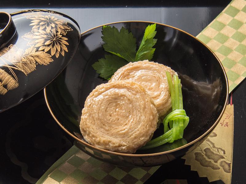 揚巻ゆば 10コ入×5パック(冷凍)