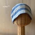 ガーゼキャップ(スカイボーダー)・夏向け可愛い医療用帽子