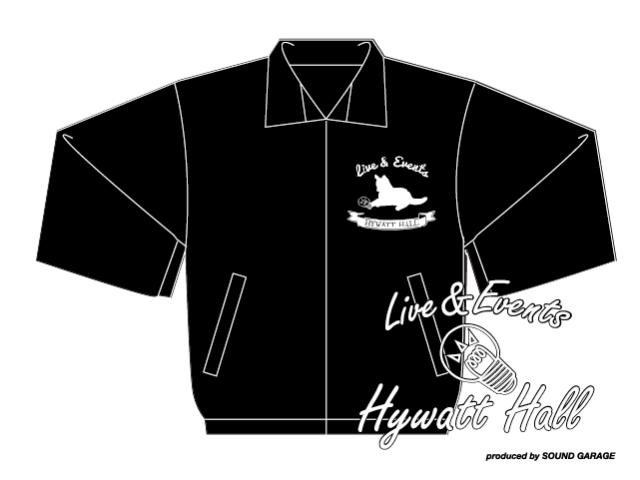HYWATT HALL グッズ受注販売 NEW ロゴコーチジャケット