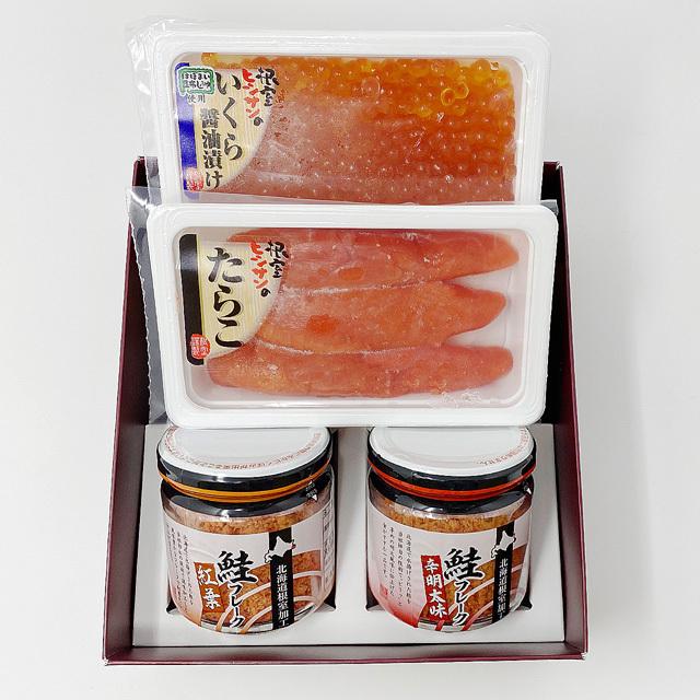 小林商店 魚卵・鮭フレークセット