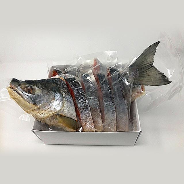 小林商店 紅鮭半身姿切身一切毎真空パック