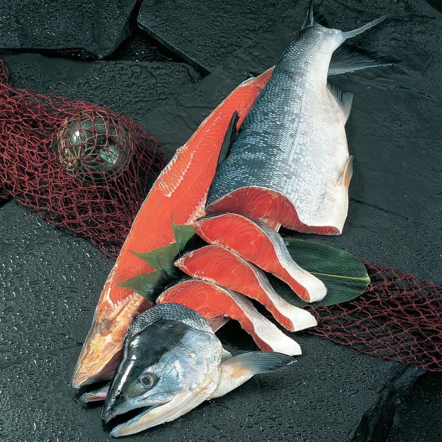 小林商店 紅鮭姿 切身一切毎真空パック