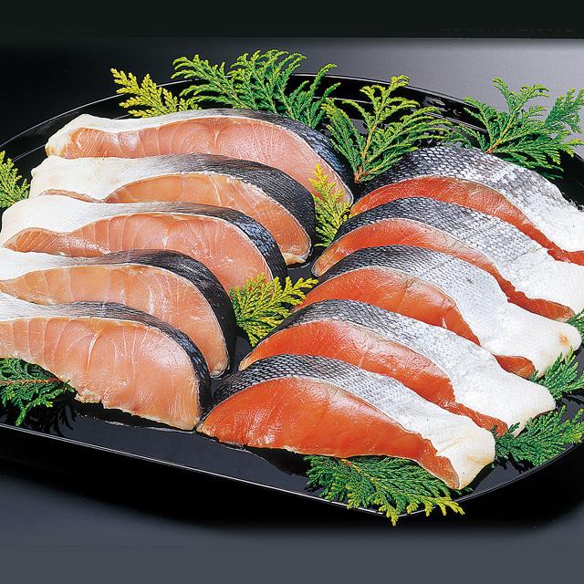 小林商店 紅鮭時鮭切り身セット