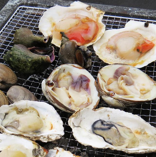 根室魚河岸茂勝 海鮮バーベキューセット