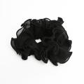 【あす着対応】お宮参り シュシュ BH-001CH ヘアアクセサリー ブラック 黒 可愛い 髪飾り レディース 女性用 華やか【ゆうパケット対応】