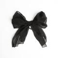 【あす着対応】お宮参り ヘアゴム BH-001HG ヘアアクセサリー ブラック 黒 リボン 可愛い 髪飾り レディース 女性用 華やか【ゆうパケット対応】
