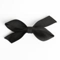 【あす着対応】お宮参り バレッタ BH-002BA ヘアアクセサリー ブラック 黒 リボン 可愛い 髪飾り レディース 女性用 華やか【ゆうパケット対応】
