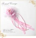 フォーマルコサージュ CO315-PK 結婚式 パーティー 入学式 入園式 卒園式 卒業式 お宮参り 花 ふわふわ 通販 ピンク 可愛い 髪飾り レディース 女性用 華やか