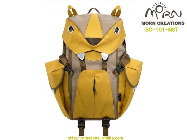 MORN CREATIONS/モーンクリエイションズのビッグキャットバックパック(L) MST