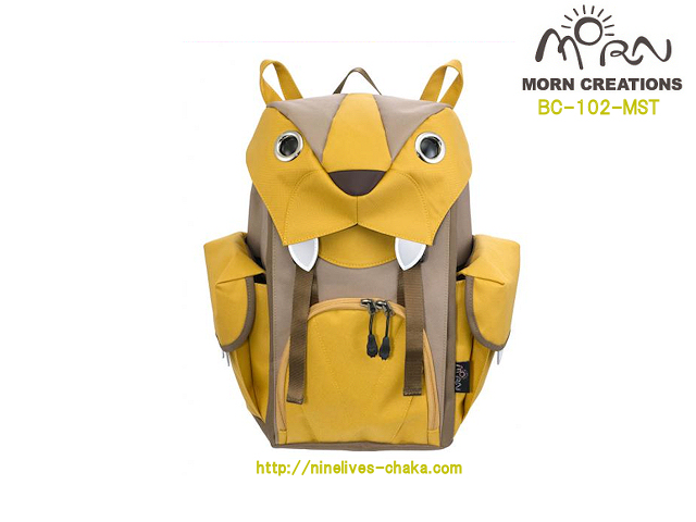MORN CREATIONS/モーンクリエイションズのビッグキャットバックパック(M) MST