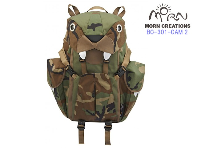MORN CREATIONS/モーンクリエイションズのビッグキャットバックパック(L) CAM 2