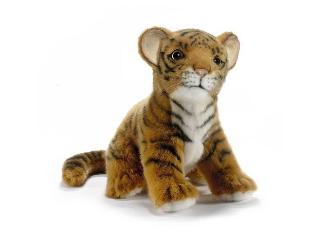 HANSA/ハンサぬいぐるみ 赤ちゃんトラ 19cm