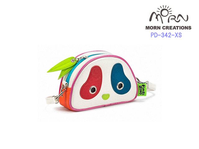 MORN CREATIONS/モーンクリエイションズのパンダバッグカラフル(XS) 限定品