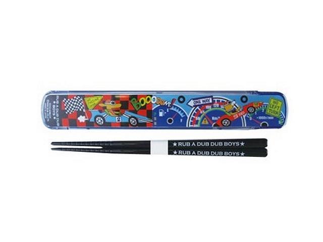 RUB A DUB DUB BOYS/ラブアダブダブボーイズのハシ&スライドケース(箸と箸箱のセット)