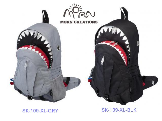 MORN CREATIONS/モーンクリエイションズのシャークバックパック(XL)