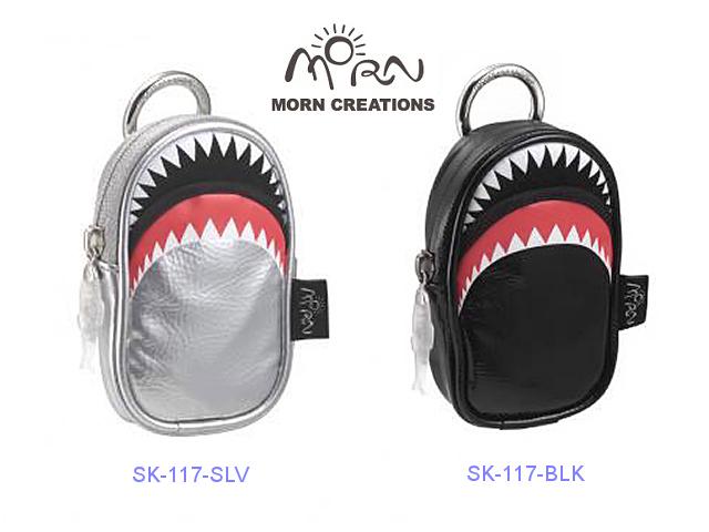 MORN CREATIONS/モーンクリエイションズのシャークデジカメケース レザー