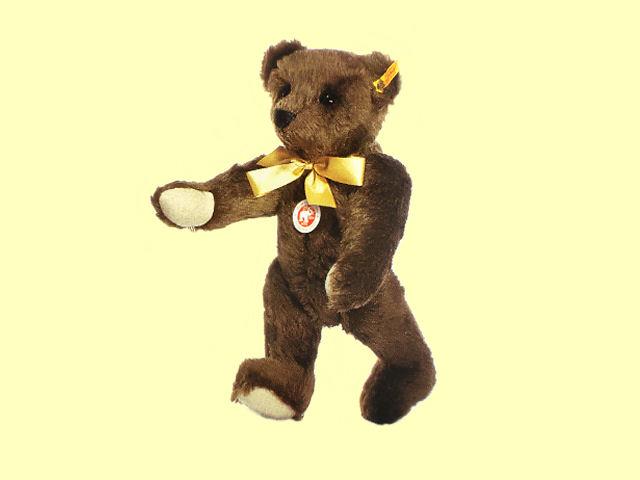 Steiff/シュタイフ テディベア/Classic Teddy bear 1909 dark brown 35cm