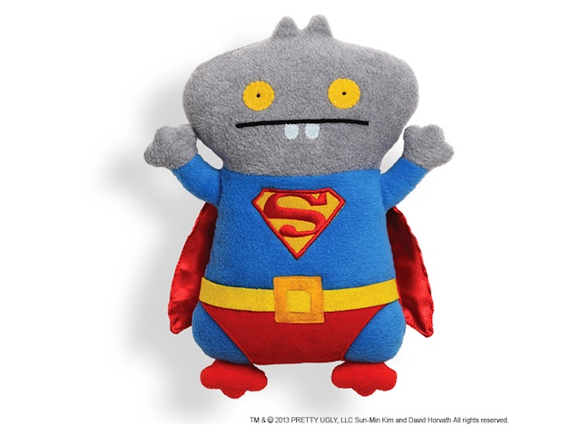 GUND/Ugly Doll アグリードール DC コミック スーパーマン - バボ