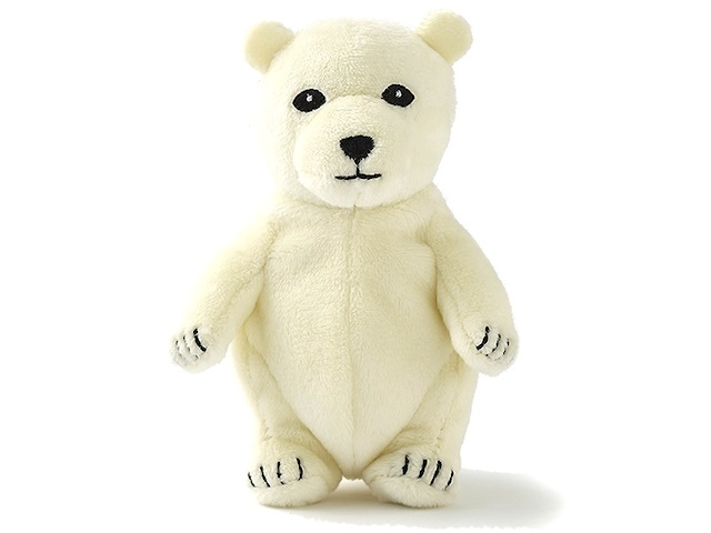 WANDERERS ワンダラーズ アニマルポーチ Polar bear シロクマ