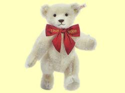 Steiff/シュタイフ テディベア/Margarete's Teddy bear,white 28cm<世界限定3000体>