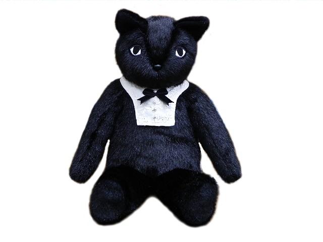 モンスイユオリジナル ネコのぬいぐるみ / ブラックベリー(男の子) 限定品