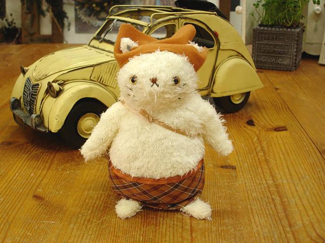 猫のぬいぐるみ ティカルーニャ/ママ・ヌイ 14cm