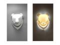 Islanders Studio/アイランダーススタジオ/ツキノワグマ ランプシェード(ランプ器具付セット)