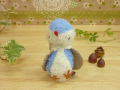 Lumiere/リュミエール 青い鳥のぬいぐるみ