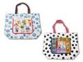 ECOUTE ! /エクートのパターントートバッグ ショッピングバッグ 旅行カバンのサブバッグ等多用途用バッグ