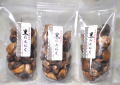 国産ホワイト6片   熟成黒にんにく (粒タイプ150gx3袋) ※ レターパックプラスでお届けします。
