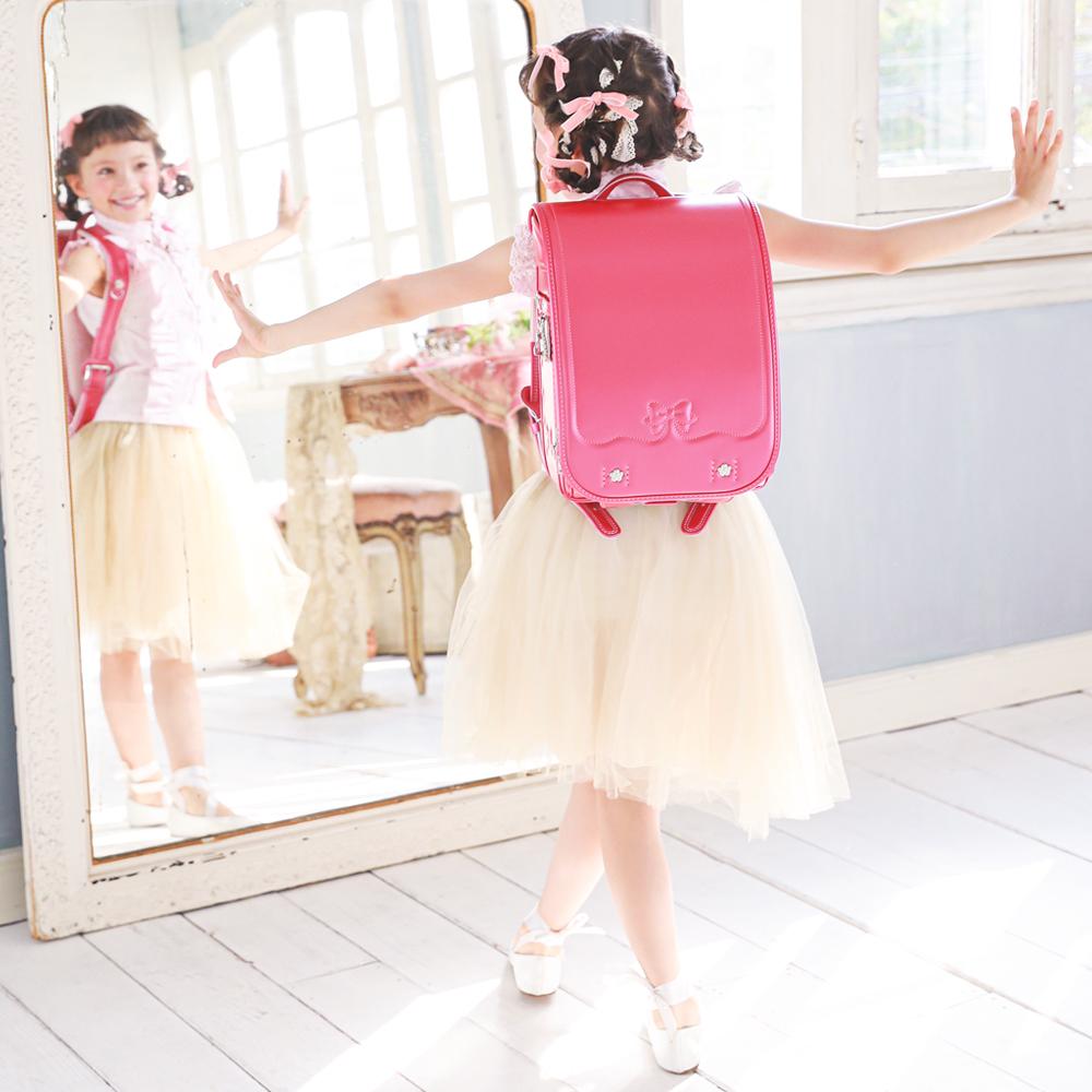 【☆毎日の通学が楽しくなるランドセル☆】  2021ニノニナランドセル『アン・プティ・ガーリー』 ☆身幅調整が出来るランドセル☆