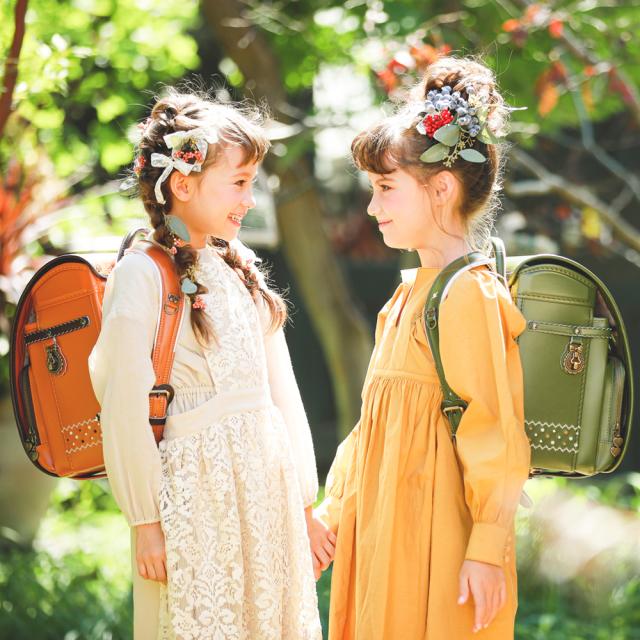 【☆毎日の通学が楽しくなるランドセル☆】  2021ニノニナランドセル『リトルベリー  - Little berry- 』 ☆身幅調整が出来るランドセル☆