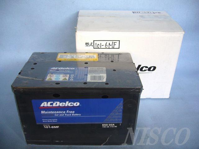 ACDelco/ACデルコ 米国車用101-6MF
