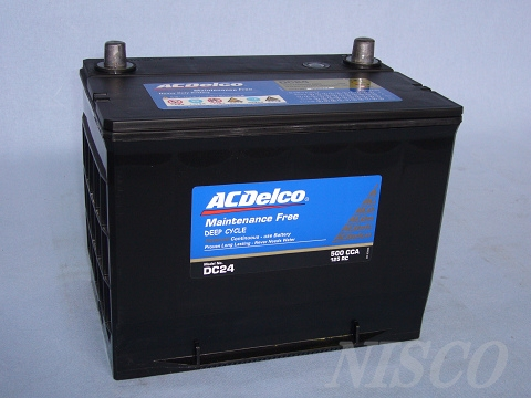 ACDelco/ACデルコ サイクルバッテリー DC24