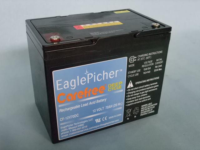EaglePicher/イーグルピッチャー CF12V70DC