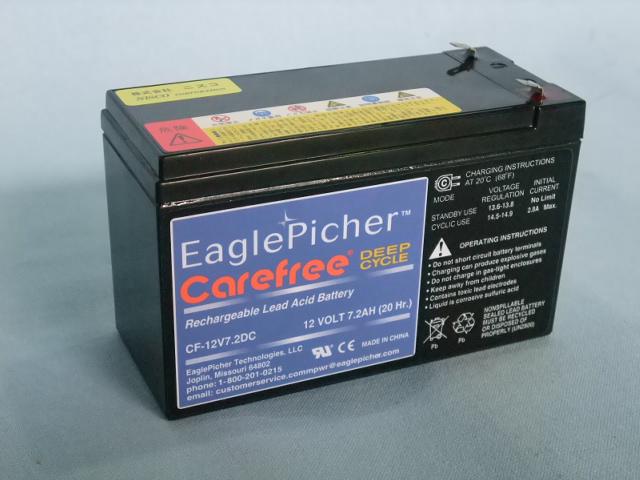 EaglePicher/イーグルピッチャー CF12V7.2DC