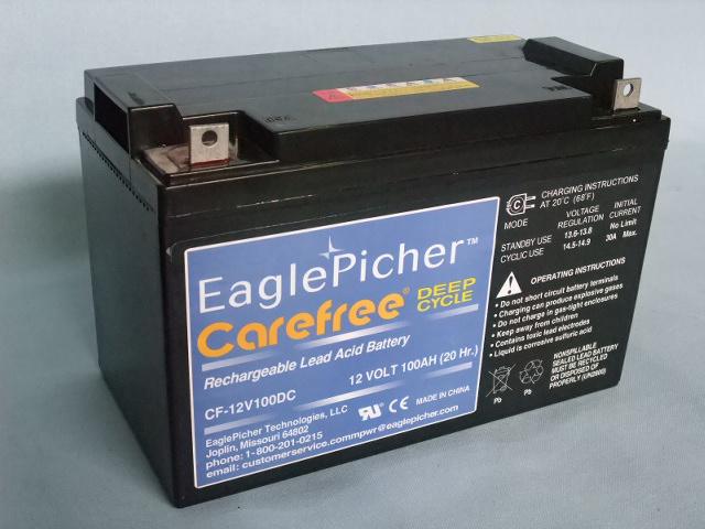 EaglePicher/イーグルピッチャー CF12V100DC