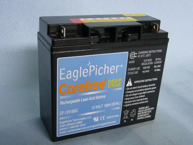 EaglePicher/イーグルピッチャー CF12V18DC