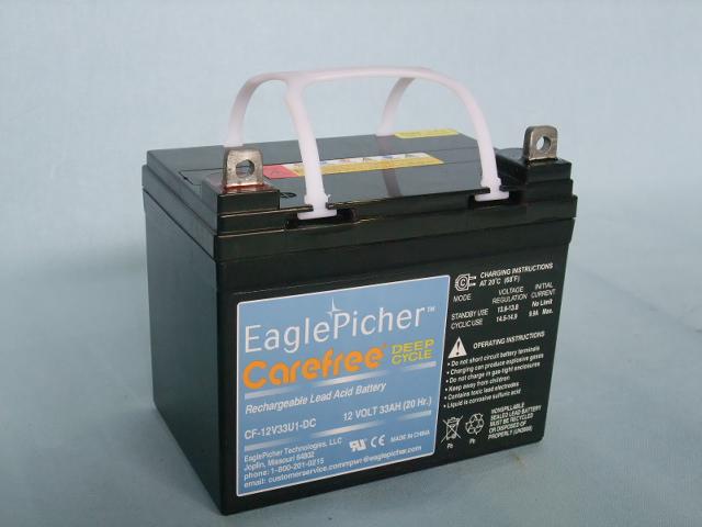 EaglePicher/イーグルピッチャー CF12V33U1DC