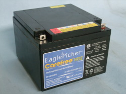 EaglePicher/イーグルピッチャー CF12V24DC
