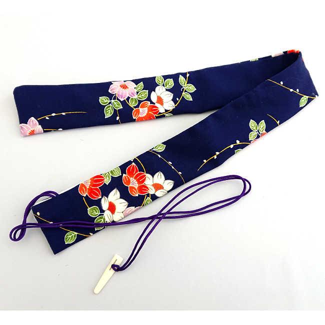 【送料無料メール便】篠笛袋・横笛袋 「つばき」幅約45mm長さ約550mm