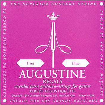 [送料無料] AUGUSTINE REGAL/BLUE オーガスチンクラシックギター弦 リーガルブルー