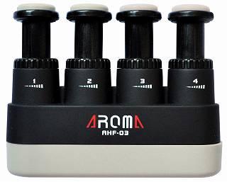 【送料無料メール便】AROMA アロマ AHF-03/BK(黒) 握力強化 ハンドエクササイザー