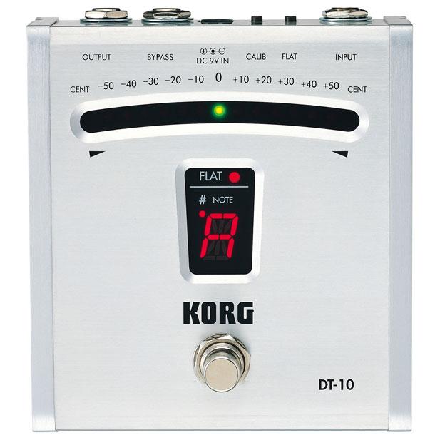 【送料無料】KORG クロマチックチューナー DT-10 ペダルタイプ