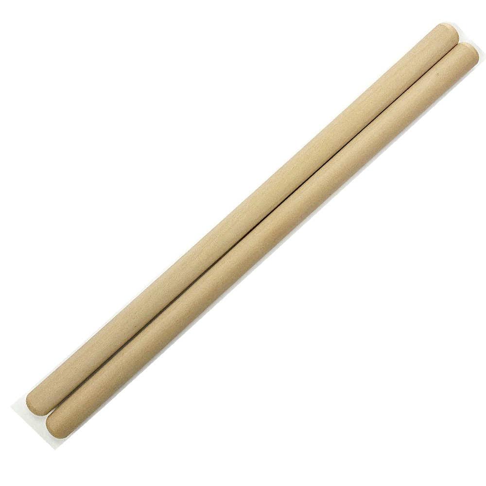 和太鼓バチ 材質:ホオ 太さ19mm X 長さ390mm 国産手工バチ 太鼓バチ 撥 西日本楽器