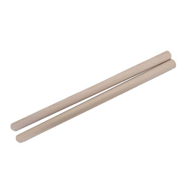 締太鼓用バチ テーパータイプ 材質:カエデ(楓) 先端12mm~持手20mm X 長さ400mm