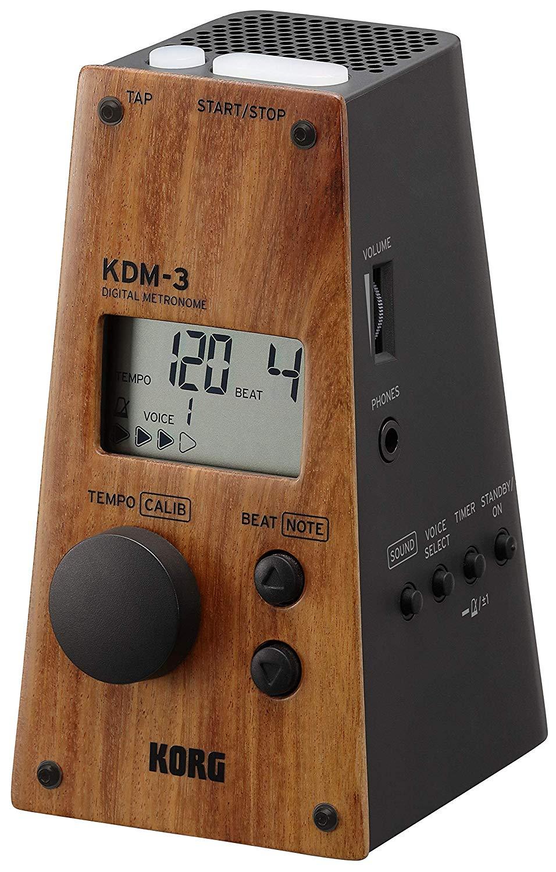 【送料無料】KORG 据え置き型電子メトロノーム KDM-3 ウッドフェイス KDM-3-WDBK コルグ限定カラー