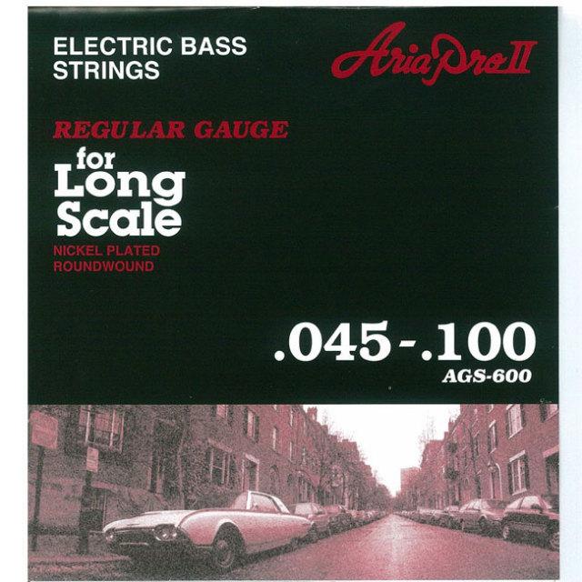 [送料無料]AriaProII(アリア) ロングスケール用 ベース弦 AGS-600